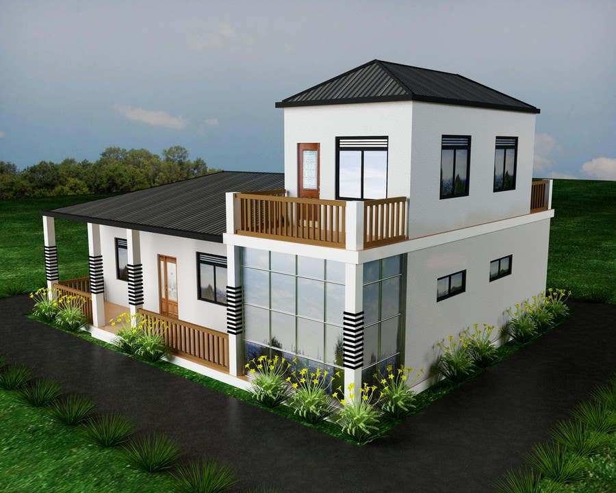Bài tham dự cuộc thi #18 cho Model a home and add new elements