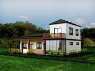 Model a home and add new elements için 3D Rendering24 No.lu Yarışma Girdisi