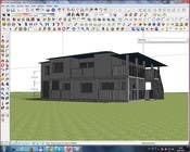 3D Rendering Bài thi #9 cho Model a home and add new elements
