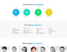 #11 para Design a Website Mockup for a Job Search Engine por leandeganos