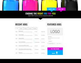 AlanHansen tarafından Design a Website Mockup for a Job Search Engine için no 46