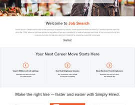 #42 para Design a Website Mockup for a Job Search Engine por doomshellsl
