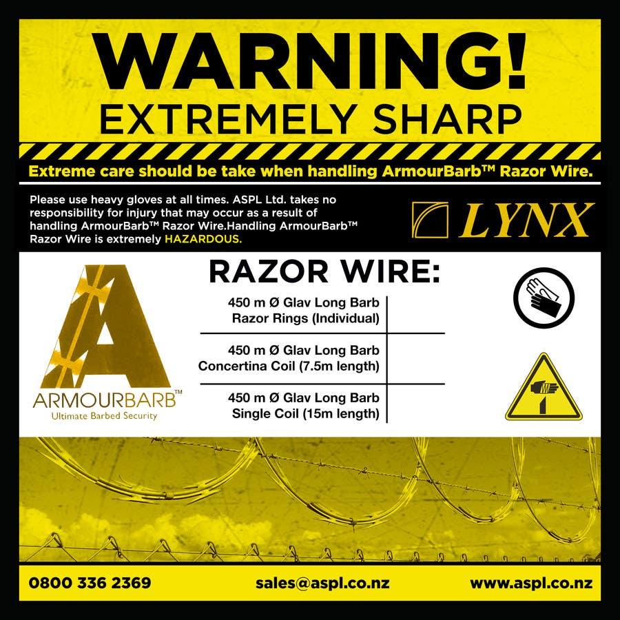 Inscrição nº 2 do Concurso para Product Packaging Warning Label