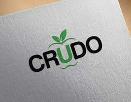 nº 61 pour Design a Logo for Crudo par momotahena