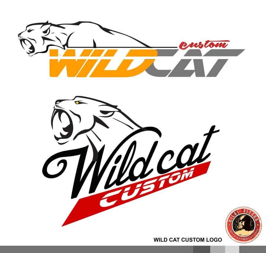 Kilpailutyö #43 kilpailussa Design a Logo for Wild Cat Customs