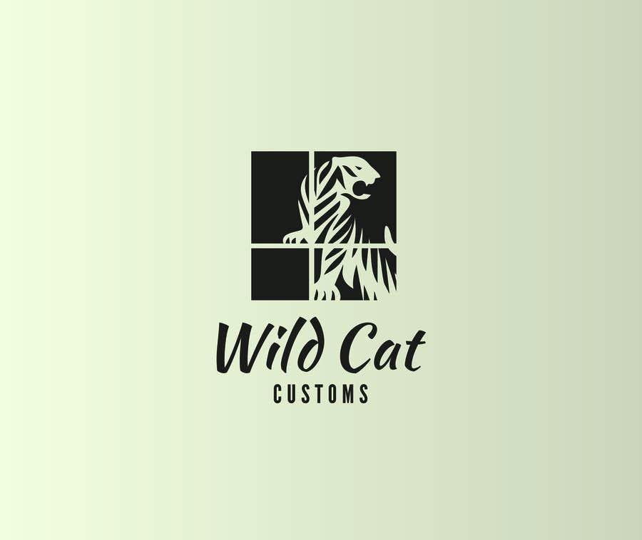 Kilpailutyö #19 kilpailussa Design a Logo for Wild Cat Customs