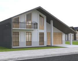 Nro 12 kilpailuun Modern House Exterior Design or  Facade/Frontage Design based on Vernacular Architecture käyttäjältä FatmanurB