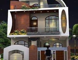#6 cho Modern House Exterior Design or  Facade/Frontage Design based on Vernacular Architecture bởi researchvirtuoso