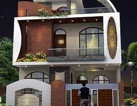 Nro 6 kilpailuun Modern House Exterior Design or  Facade/Frontage Design based on Vernacular Architecture käyttäjältä researchvirtuoso
