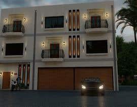 Nro 17 kilpailuun Modern House Exterior Design or  Facade/Frontage Design based on Vernacular Architecture käyttäjältä aliarchviz96