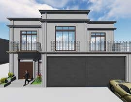 Nro 22 kilpailuun Modern House Exterior Design or  Facade/Frontage Design based on Vernacular Architecture käyttäjältä mesmeriem