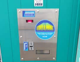 #11 for Design a sticker for a change machine by rendyorlandostd