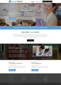 #15 untuk Design a Website Mockup and a Logo for KinderRelief oleh kreativeminds