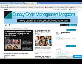 Nro 21 kilpailuun Banner Ad Design for Paper.li site käyttäjältä mirceabaciu
