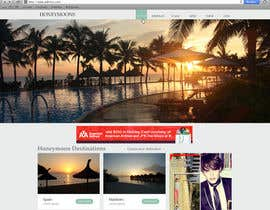#50 untuk Website Design for Honeymoons website oleh nelsonc99