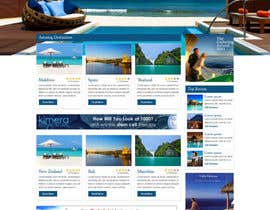 #31 for Website Design for Honeymoons website by nitinatom