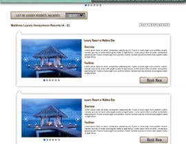 #47 untuk Website Design for Honeymoons website oleh andrewdigger