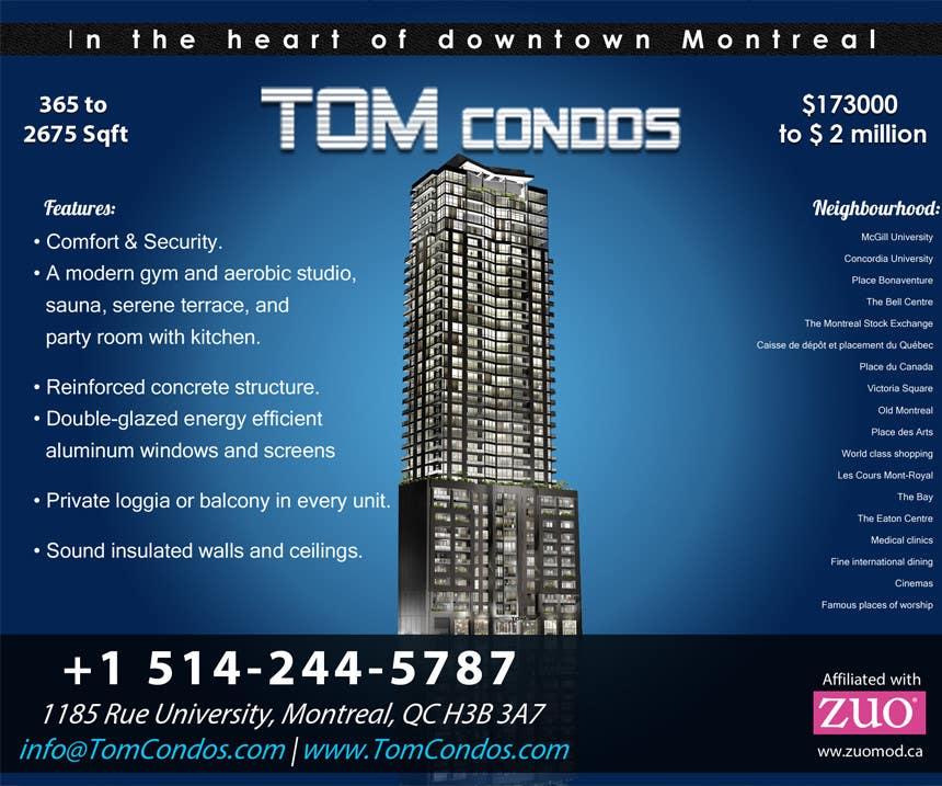 Contest Entry #                                        14                                      for                                         Design a Flyer for TOM CONDOS