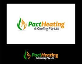 #34 para Logo Design for Pact Heating por jummachangezi