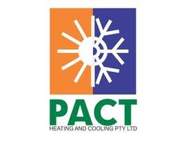 #38 para Logo Design for Pact Heating por itcostin