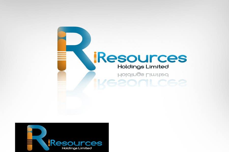Inscrição nº 122 do Concurso para Logo Design for iResources Holdings Limited