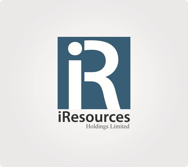 Inscrição nº 38 do Concurso para Logo Design for iResources Holdings Limited