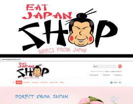 #1 para Logo Design for Eat Japan Shop website por rogeliobello