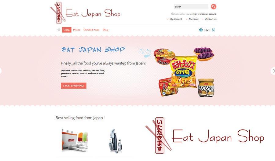 Contest Entry #9 for Logo Design for Eat Japan Shop website