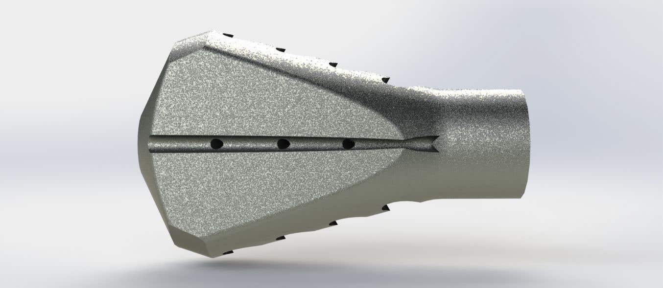 Bài tham dự cuộc thi #                                        81                                      cho                                         Design 3 unique and effective muzzle brakes