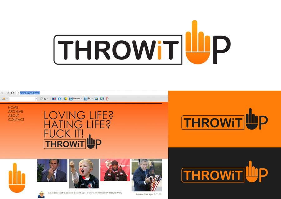 Penyertaan Peraduan #18 untuk Logo Design for ThrowItUp.org
