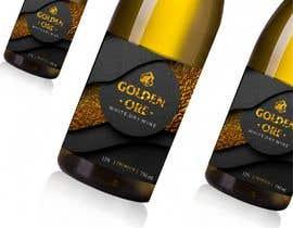 #814 for Golden Ore Wine Label af reginanikason