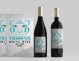 Nro 742 kilpailuun Tigress Wine Label Creation käyttäjältä nozrulislam2020