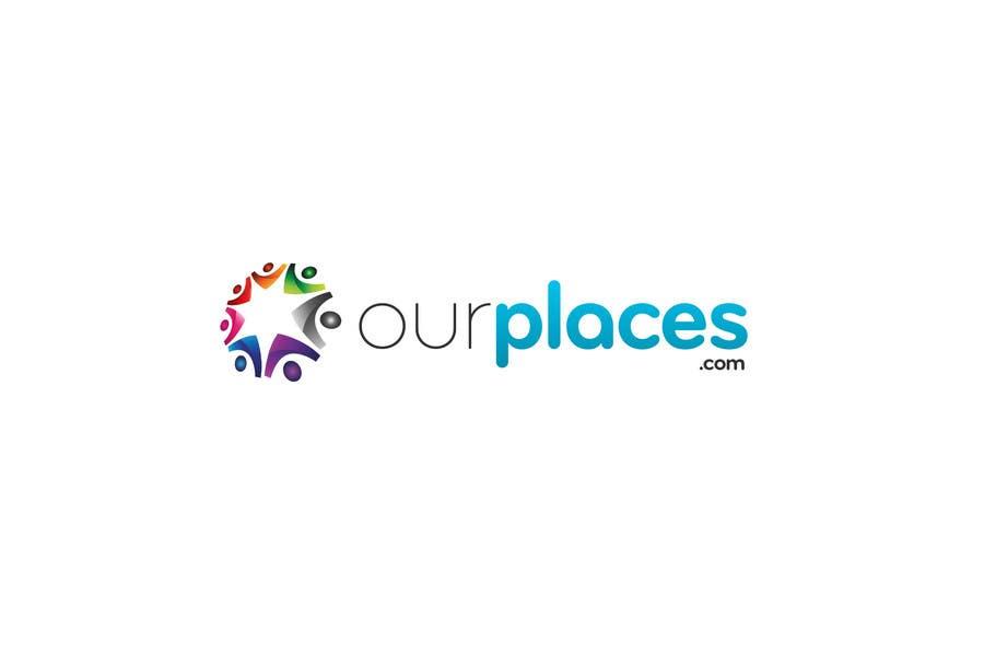 Bài tham dự cuộc thi #87 cho Logo Customizing for Web startup. Ourplaces Inc.