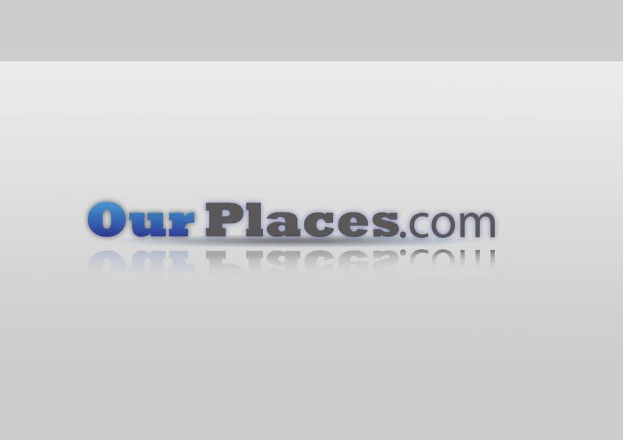 Bài tham dự cuộc thi #354 cho Logo Customizing for Web startup. Ourplaces Inc.
