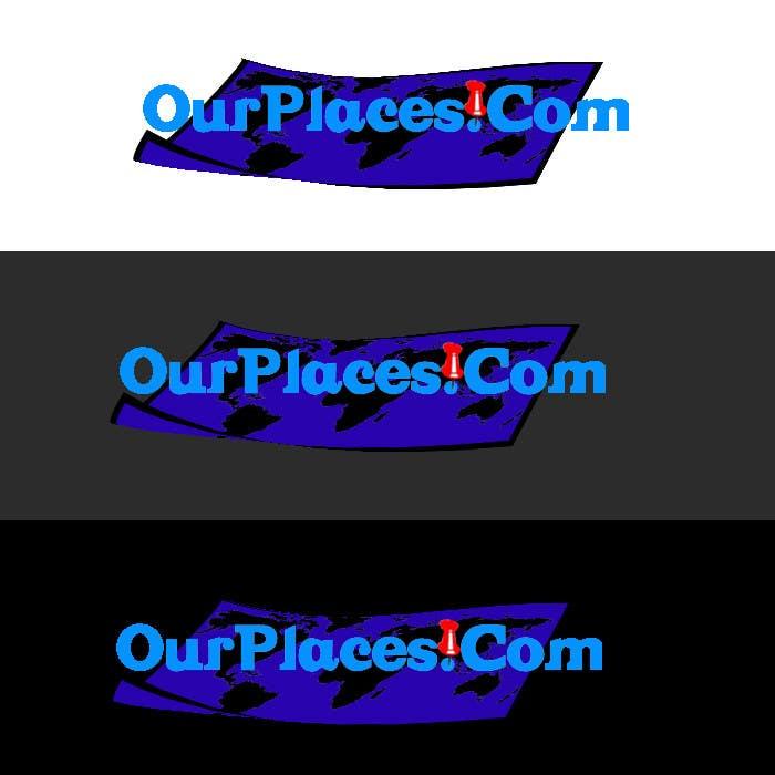 Penyertaan Peraduan #353 untuk Logo Customizing for Web startup. Ourplaces Inc.