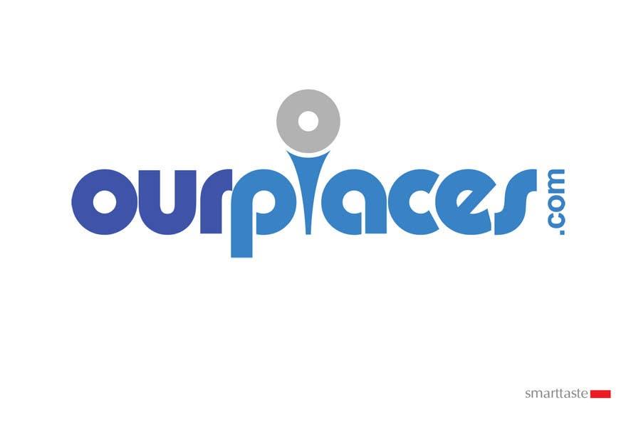 Penyertaan Peraduan #319 untuk Logo Customizing for Web startup. Ourplaces Inc.