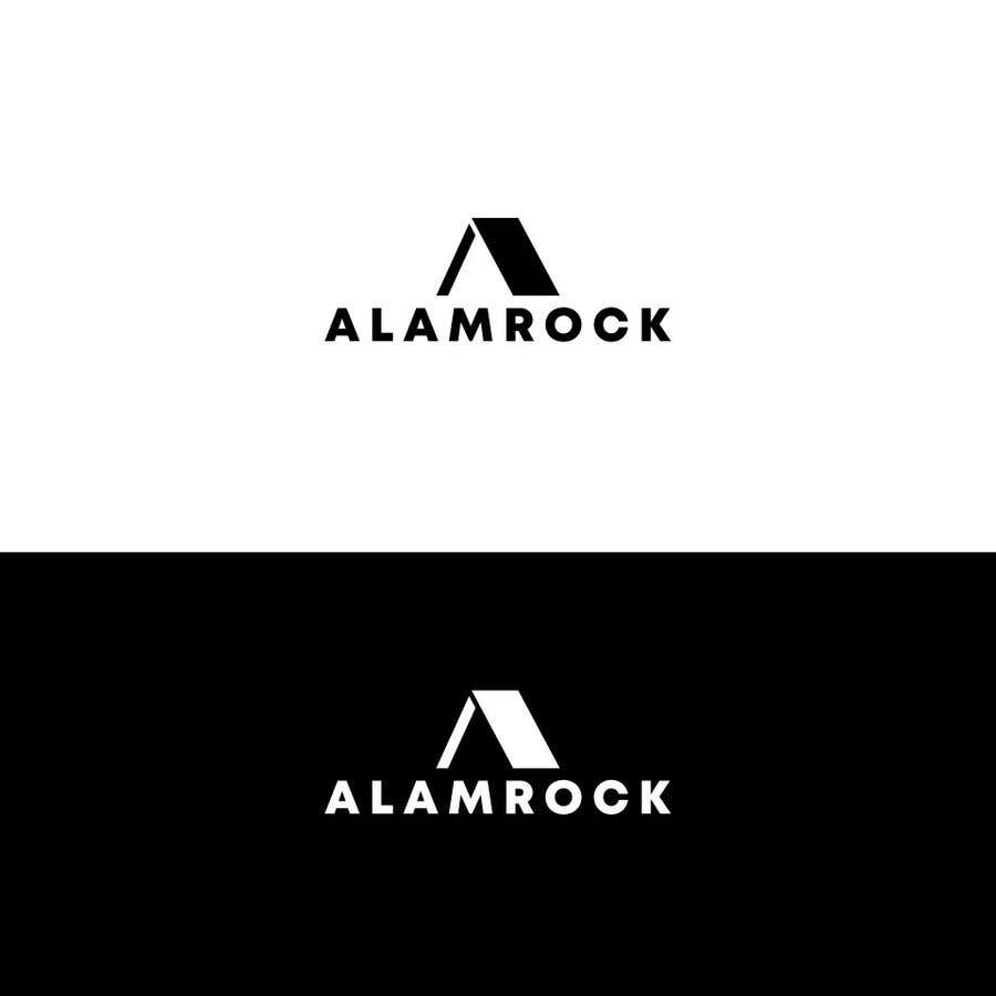 """Intrarea #                                        135                                      pentru concursul """"                                        Logo for my business - Alamrock                                     """""""