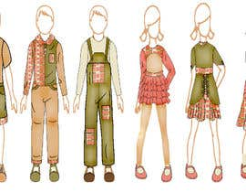 nº 21 pour Looking for a Fashion Designer to create a set of 6 different looks of clothing, where each outfit complements the rest of the clothing par safomarwa
