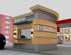 #84 para Design 3d drive-thru coffeeshop por Creative3dArtist