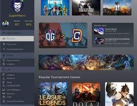 #8 cho Design a Gaming network platform GUI/Dashboard bởi ricsiecruz