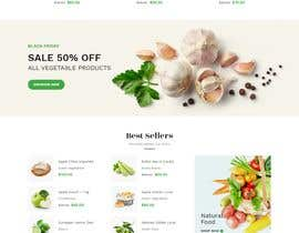#35 untuk Home page for online bio organic shop oleh EmonDev