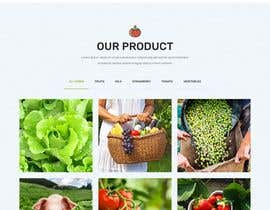 #39 untuk Home page for online bio organic shop oleh EmonDev