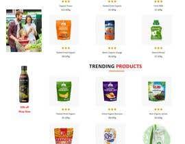 #31 untuk Home page for online bio organic shop oleh lokmantex