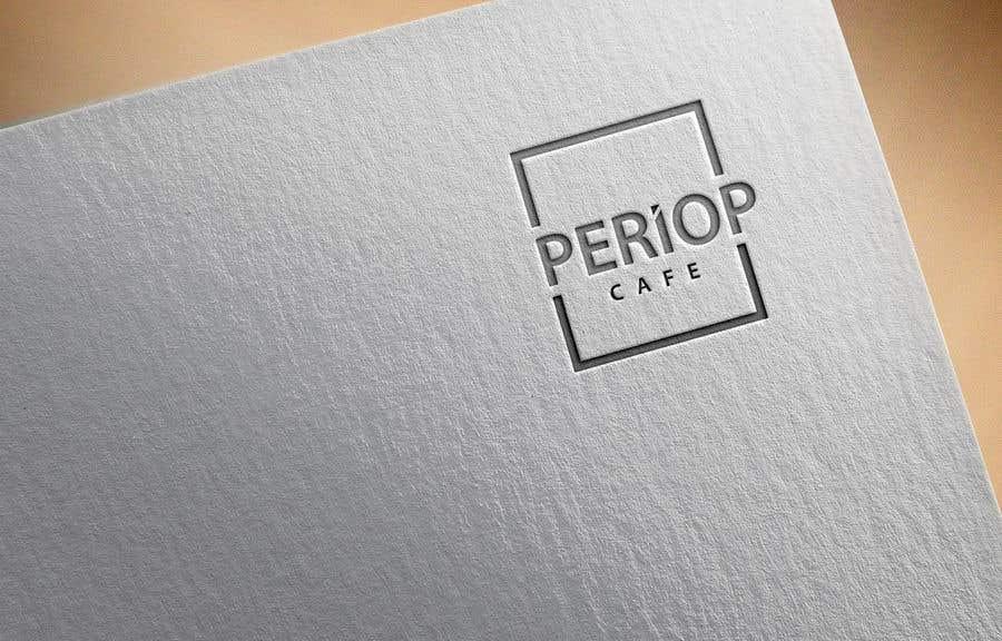 Конкурсная заявка №                                        1155                                      для                                         Periop Cafe logo design