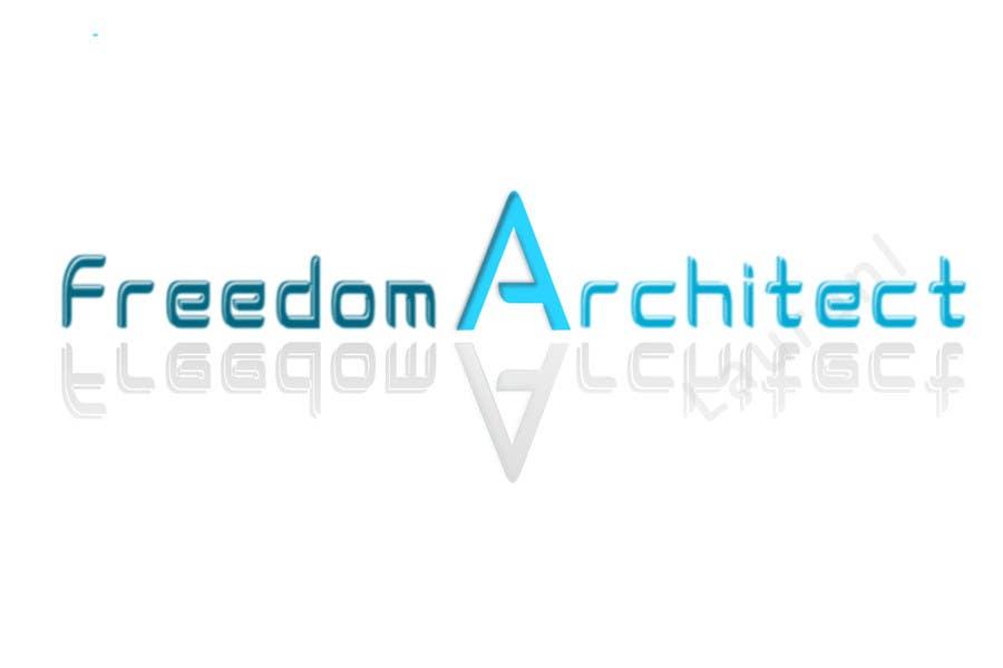 Inscrição nº                                         115                                      do Concurso para                                         Logo Design for Freedom Architect