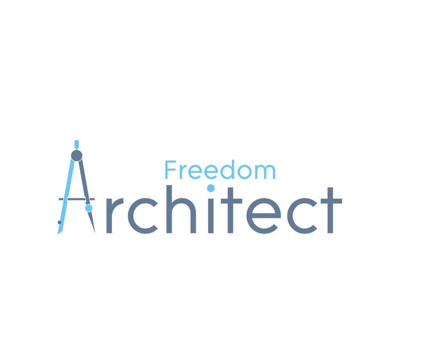 Inscrição nº                                         99                                      do Concurso para                                         Logo Design for Freedom Architect
