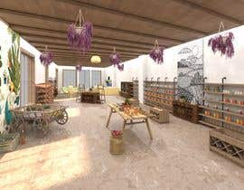 #15 cho Design a retail space for an organic market + cafe bởi Maskoffdesign