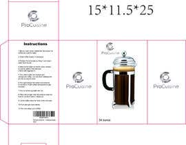 #4 for Create simple packaging for coffee maker by fabriscribbles
