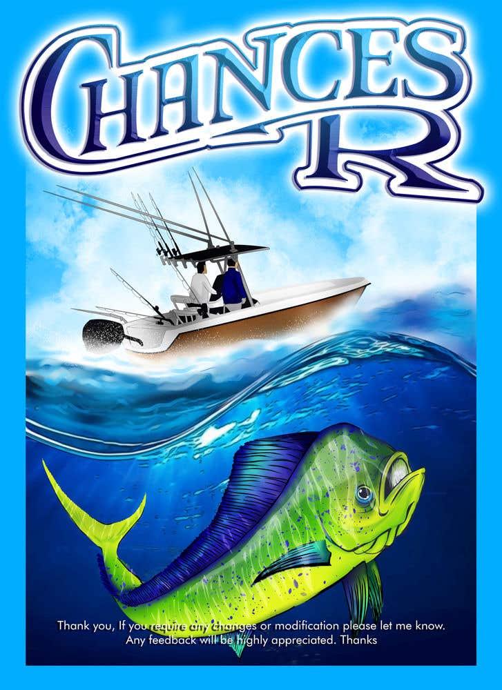 Kilpailutyö #                                        63                                      kilpailussa                                         Boat + Fishing Shirt Design
