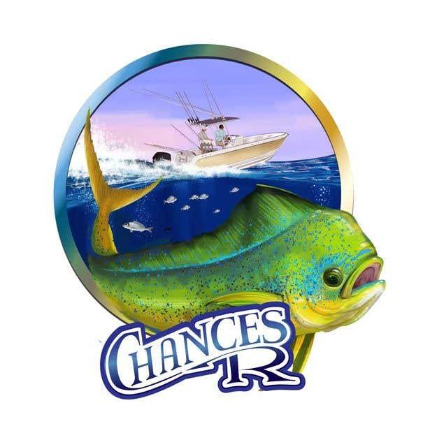 Kilpailutyö #                                        81                                      kilpailussa                                         Boat + Fishing Shirt Design